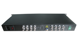 The 16 channel optical video transmission
